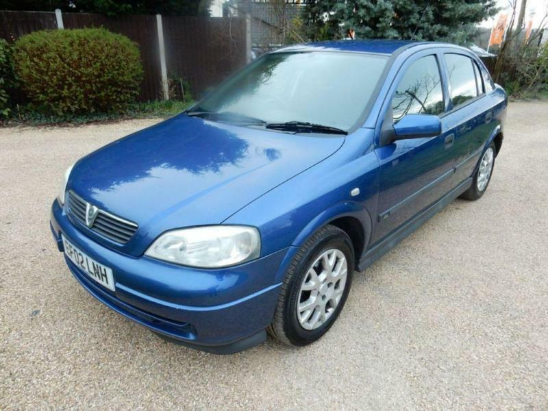 CHEAP CAR 2002 02 VAUXHALL ASTRA 1.6 CLUB 8V 5D 85 BHP | in Wickford