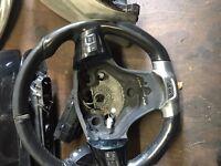 Corsa d vxr steering wheel