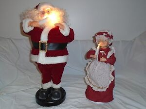 "(""PLUG-IN"") - (""LIGHT-UP"") **MUSICAL** (MR & MRS SANTA)"