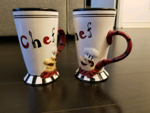 Set of 2 large mugs
