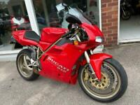DUCATI 916, WITH ONLY 3900 MILES FROM NEW, IMMACULATE COLLECTORS BIKE!