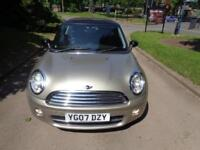 2007 Mini Mini 1.6TD ( Chili ) Cooper D [1/2 LEATHER+CAM BELT+FSH+WARRANTY]