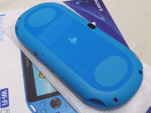 New Sony Playstation Vita (PS Vita) - Aqua Blue Slim Model.