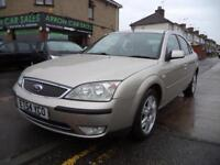 2005 FORD MONDEO 2.0 GHIA AUTOMATIC, FULL SERVICE HISTORY, M.O.T TILL FEB 2019