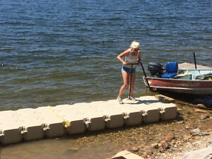 FLOATING DOCK $2,400 for a 30′ system Regina Regina Area image 4
