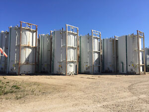 400 BBL tanks, skidded, good condition!  With gauge board. Edmonton Edmonton Area image 4
