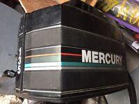 Braking mariner mercury outboard boat engine
