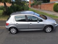 Peugeot 2005 good condition. 9 months MOT left