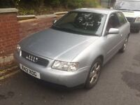 Audi A3 1.8 turbo 170 BHP+drives perfect