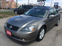 2006 NISSAN ALTIMA SL *FULLY LOADED NO ACCIDENT 2 YEARS WARRANTY