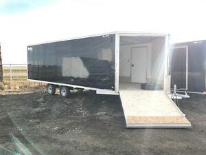 "2016 Mission Trailers 101""x22' V-Nose Construction"