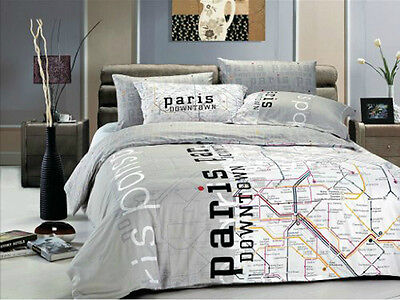 wie man sich bettet witzige bettw sche f r langschl fer ebay. Black Bedroom Furniture Sets. Home Design Ideas