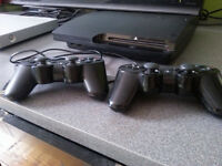 PlayStation 3 160GB Slim - console games - 200$ - 150$ no games