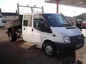 Ford Transit 350 Double Cab Under Floor Steel Tipper
