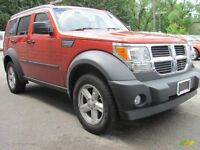 2007 DODGE NITRO 4X4  SUV,LOADED AND INSPECTED
