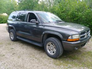 2003 Dodge Durango SLT 4.7L Safetied