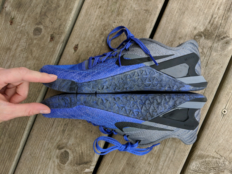 Womens Nike Metcon size 3 size Metcon 6.5 Crossfit shoes eda05e