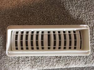 Floor heat registers