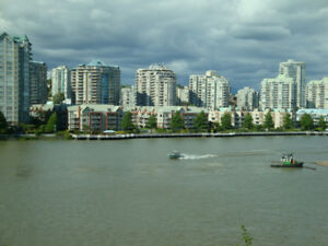 Go South to Vancouver to Avoid Winter - rent 2 Bdrm Luxury Apt.