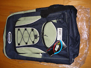 Unisex green blue backpack school bag knapsack New with tags