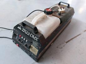 3 x smoke machines. Spares or repair