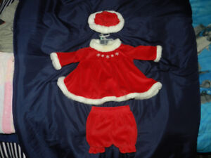 Christmas Baby Dress / Robe de Noel pour bebe