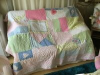 LAURA ASHLEY AT HOME DOUBLE THROW QUILT NEW