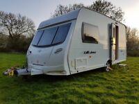 2008 Lunar Ultima 2 Berth End W/room Lightweight Touring Caravan Inc Awning & Accessories