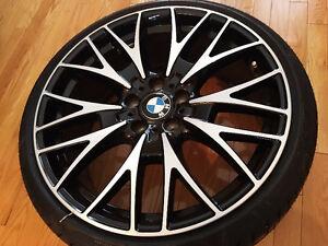 "BMW 20"" 404 Wheels with Pirelli P Zero Run-Flat Tires AUTHENTIC"