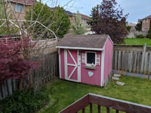 10x8 wooden shed for sale