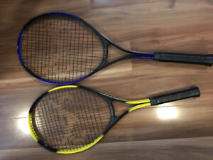 2 Youth tennis rackets