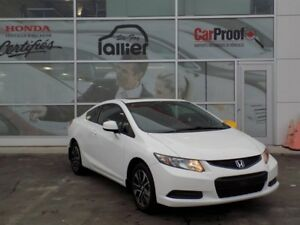 Honda Civic COUPE LX 10ANS OU 200 000KM 2013