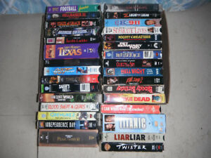 VHS Videos For Sale