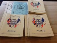 Dunkirk Veterans Association journal, 19 books 1995 to 1998