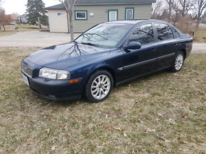 1999 Volvo s80 safety/etest - low kms!