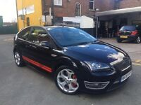 2008 - 08 Ford Focus ST 500 - Limited Edition - Black - 59k Miles - Red Leathers