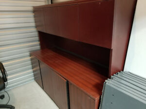 Office Cabinet, Bottom and Top. Best Offer today.