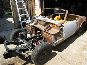 1974 Triumph Spitfire [Lots Of Parts!]