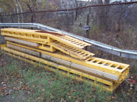 Heavy Duty Truck Ramps - for servicing - with lights