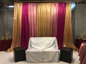 Backdrop Stand - Party Rental
