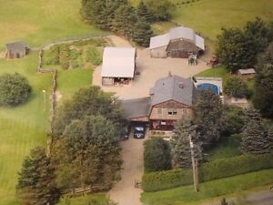 Hobby Farm / Horse Property / Inspected / Hanwell, New Brunswick