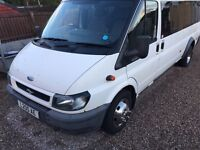 17 seater ford transit mini bus