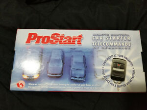 Pro Start remote car starter