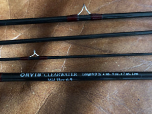 """Orvis 9'6"""" 7 weight Steelhead Fly Rod in excellent condition"""
