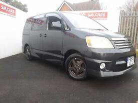 2003 53 (IMPORTED IN 2014) TOYOTA NOAH 8 SEATER 2.0 AUTO,1 UK OWNER.PX WELCOME .