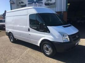 2008 08 FORD TRANSIT 2.2 110 BHP T350 MWB MEDIUM ROOF *FSH* VERY CLEAN DIESEL