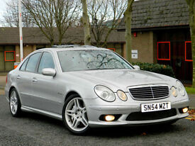 2004 54 REG MERCEDES E55 AMG 5.4 KOMPRESSOR AUTO FACE-LIFT MODEL