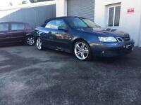 2005 55 SAAB 9-3 1.8 T VECTOR SPORT CONVERTIBLE HIRSCH PERFORMANCE UPGRADE ETC