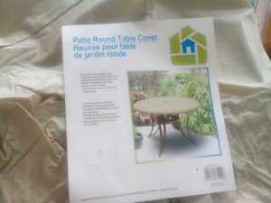 Outdoor round table cover