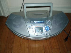 Panasonic RX-ES25 / PowerAcoustik Stereo Boombox AM/FM,CD,Tape